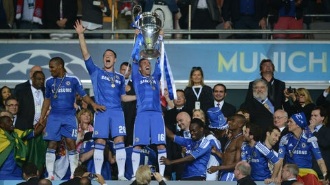 May 2012: A Champions League win (and a costume change)