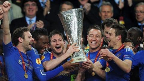 May 2013: Europa League champions