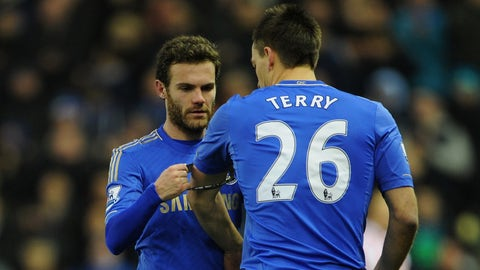 2004: Terry is named Chelsea captain by Mourinho