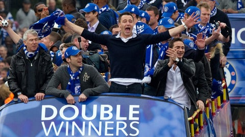 2010: Double the hardware for Terry and Chelsea