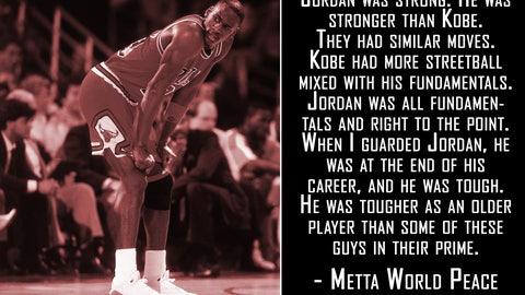 On Michael Jordan