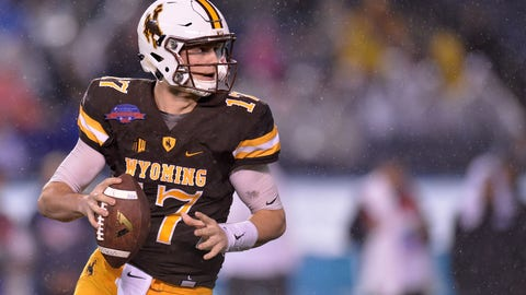 Redskins: Josh Allen, QB, Wyoming