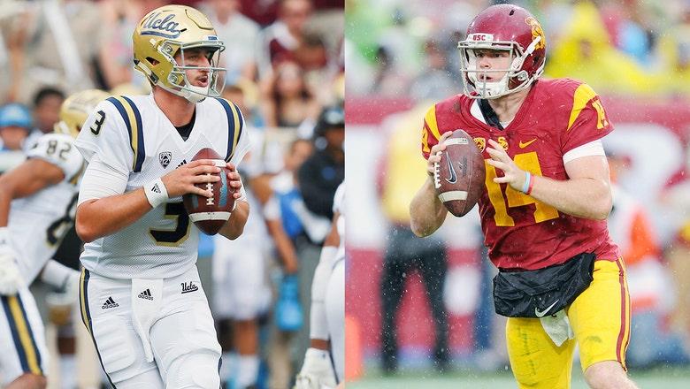 Prep Zone legends Sam Darnold, Josh Rosen meet for first time when USC hosts UCLA
