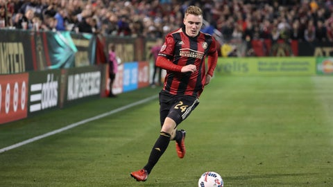 Atlanta midfielder Julian Gressel named Rookie of the Year