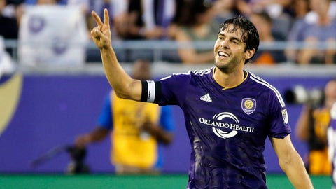 Kaka got caught red-handed and it made it tough for Orlando