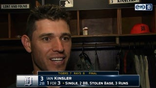 Kinsler blames Tigers' drops on Rays fans yelling 'Got it'