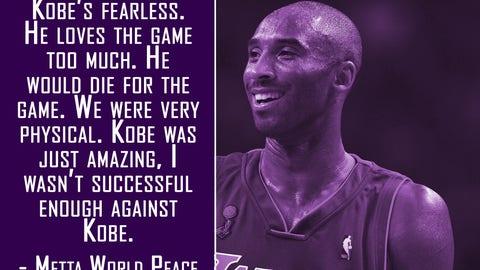 On Kobe Bryant