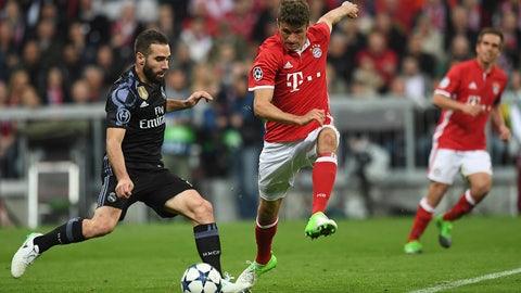 Bayern missed Robert Lewandowski