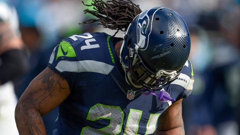 Marshawn was never able to move on from the Super Bowl loss