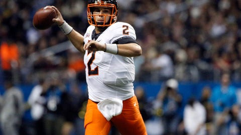 Chargers: Mason Rudolph, QB, Oklahoma State