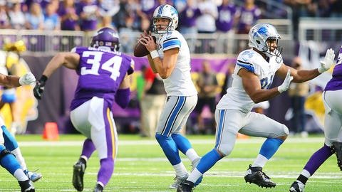 October 1: Detroit Lions at Minnesota Vikings, 1 p.m ET
