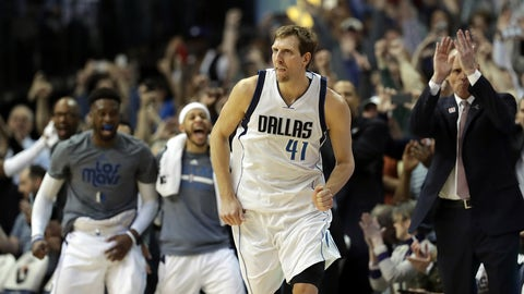 Dirk Nowitzki, 39 years old