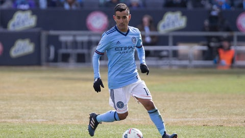 New York City FC - Maxi Moralez: $2 million