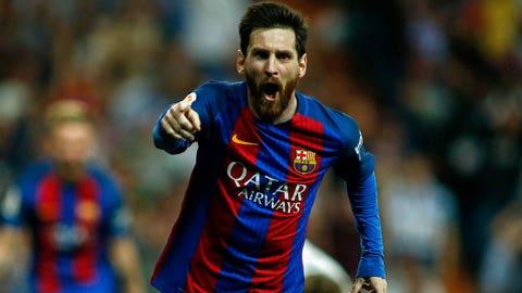 3. Lionel Messi: $80 million