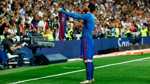 Right winger - Leo Messi