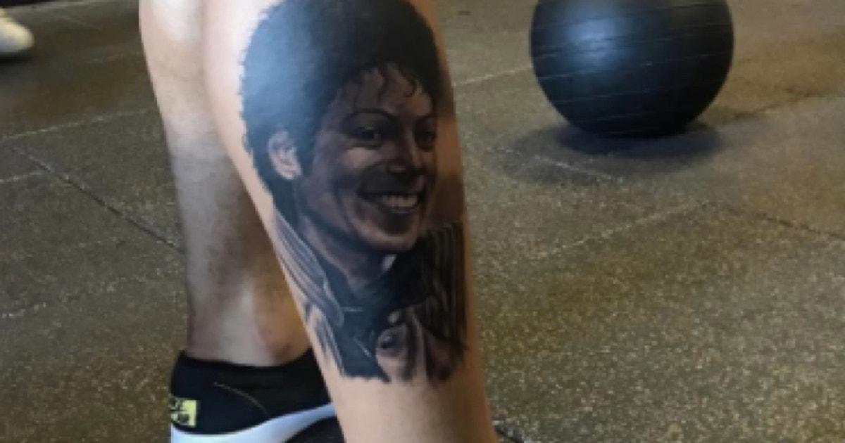 Photo Odell Beckham Jr Unveils Michael Jackson Calf