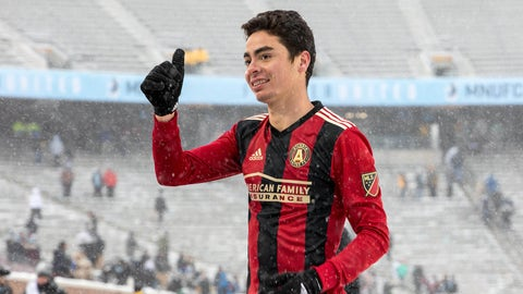 Atlanta United - Miguel Almiron: $2.297 million
