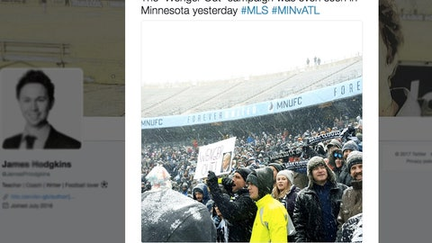 A Minnesota United match