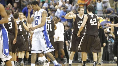 2012 NCAA tournament; No. 15 Lehigh d. No. 2 Duke