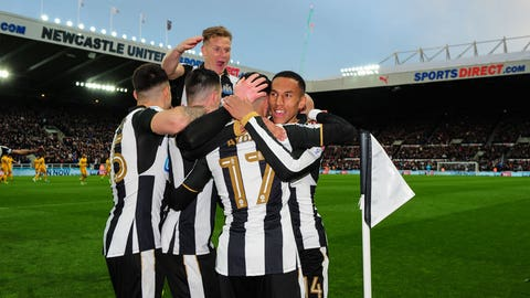 ↑ Promoted: Newcastle