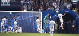 This thrilling last-gasp equalizer from Pachuca's 44-year-old goalkeeper may prove crucial