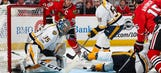 Roundup: Predators put Blackhawks in 0-2 hole, Maple Leafs top Caps in double overtime