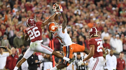 No. 7 overall: WR Mike Williams, Chargers