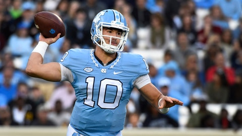 No. 2 overall: QB Mitchell Trubisky, Bears