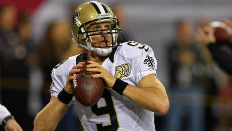 Drew Brees, QB, Saints (UFA)