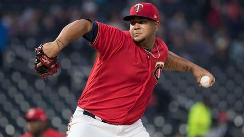 Adalberto Mejia, Twins pitcher (↓ DOWN)