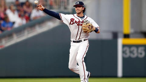 2. Are Dansby Swanson's April miscues a concern?