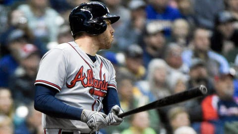 3. Freddie Freeman's April onslaught gets a punctuation mark