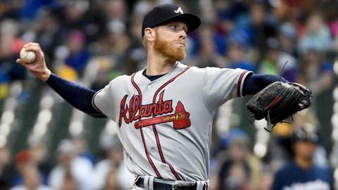 1. We are witnessing the true potential of Mike Foltynewicz