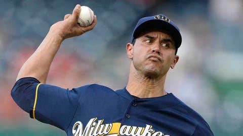 Milwaukee Brewers: Carlos Torres, RP (34)