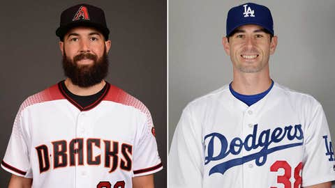 Today's starting pitchers: LHP Robbie Ray vs. RHP Brandon McCarthy