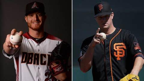Today's starting pitchers: RHP Shelby Miller vs. RHP Matt Cain