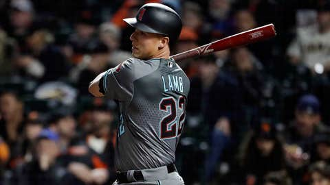 Jake Lamb cleaning up