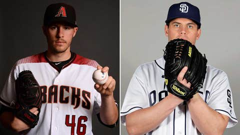 Starting pitchers: LHP Patrick Corbin vs. LHP Clayton Richard.