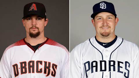 Starting pitchers: RHP Zack Godley vs. RHP Trevor Cahill