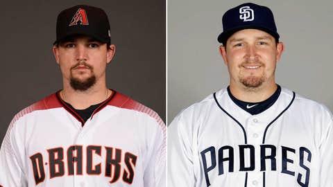 Starting pitchers: RHP Zack Godley vs. RHP Trevor Cahill