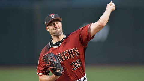 D-backs starting pitcher Robbie Ray
