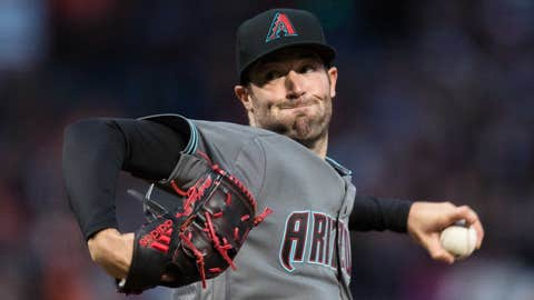 D-backs starting pitcher Robbie Ray (1-0, 2.19 ERA)
