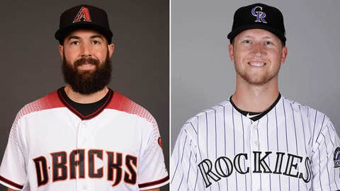 Today's starting pitchers: LHP Robbie Ray vs. LHP Kyle Freeland