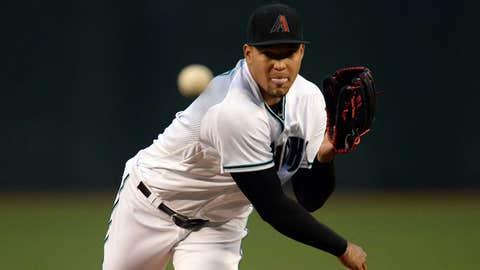 D-backs starting pitcher Taijuan Walker (2-1, 4.57 ERA)