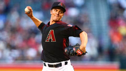 D-backs starting pitcher Zack Greinke (1-1, 4.32 ERA)