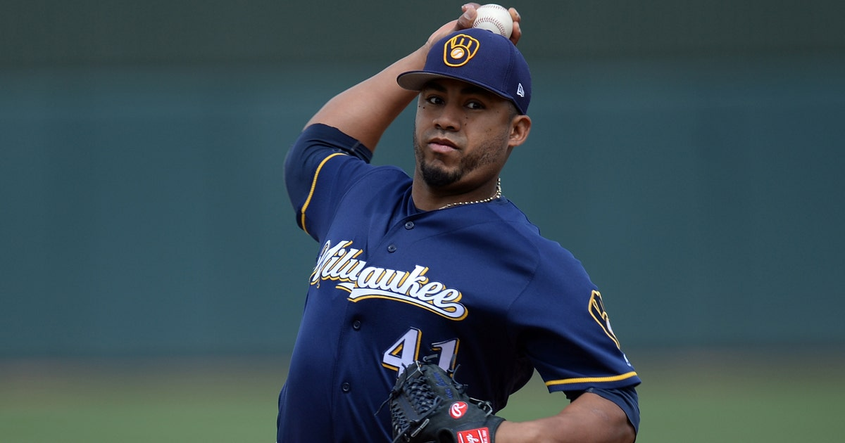 Milwaukee Brewers reinstate Guerra, place Vogt on 10-day DL