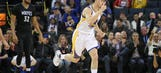 Wolves outdueled by Thompson, Warriors