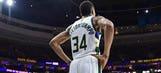 Giannis' jersey ranks in top 10 of NBA's best sellers
