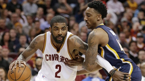 Kyrie Irving gives LeBron James all the help he needs