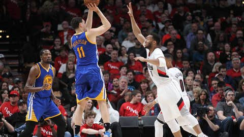 Klay Thompson, SG, Golden State Warriors